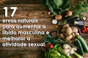 17 ervas naturais para aumentar a libido masculina e melhorar a atividade sexual